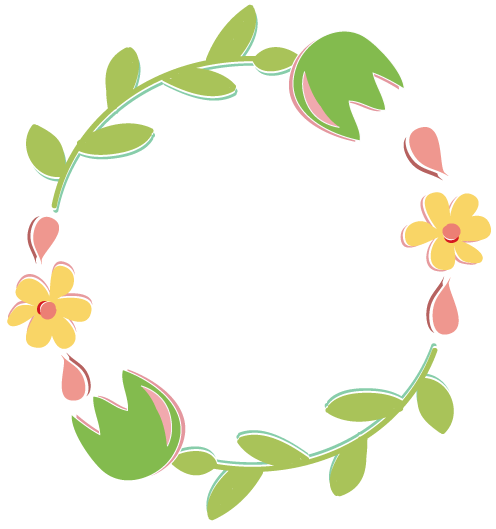 clipart flower wreath - photo #14