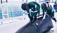 WINTER OLYMPICS 2018: ALL EYES ON REMARKABLE NIGERIAN WOMEN BOBSLEIGH TEAM