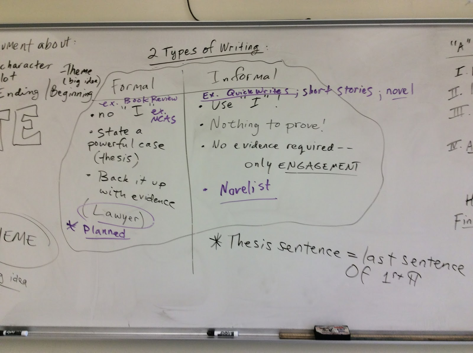 7th grade english at bromfield arguing passion and purpose as we work though this essay some other materials we will use are this model of a book review from the new york times by reviewer gary d schmidt and