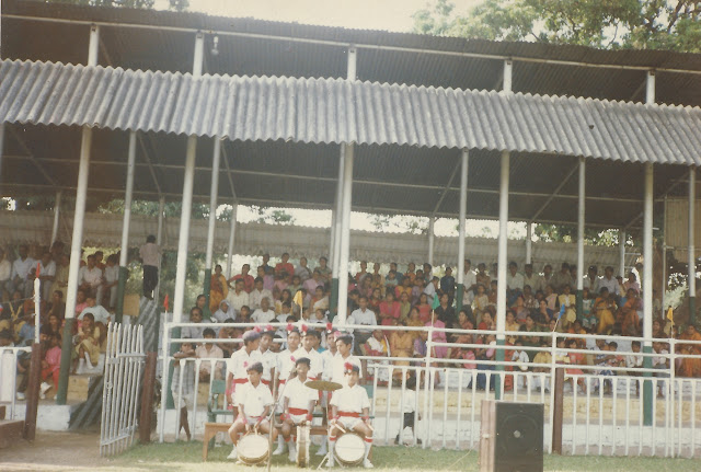 shaurabh bharti Playing side drums, 1993