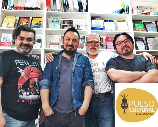 Cristian Sotelo, César Tejeda, Hugo Medrano y Claudio Gallardo.