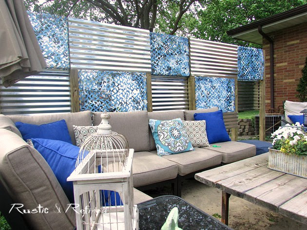 How to create a cozy Outdoor Space on a Budget.