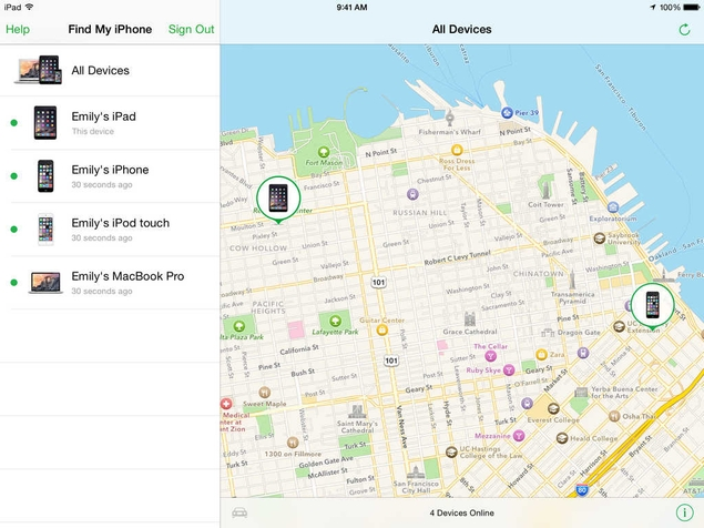 how to find lost iPhone with find my iPhone app