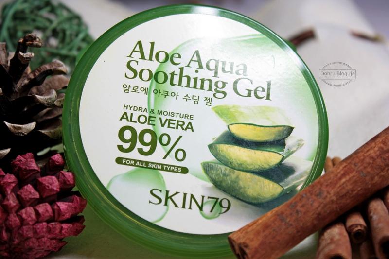 SKIN79- ALOE AQUA SHOOTHING Gel 99%. Łagodzący żel aloesowy, bardzo przydatny nie tylko w lecie.