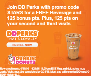 This Girl Runs on Dunkin-dd-perks