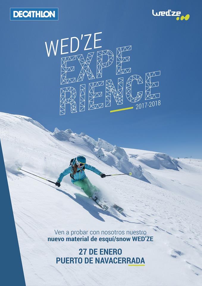 La Wedze Experience llega a Madrid, en el Puerto de Navacerrada