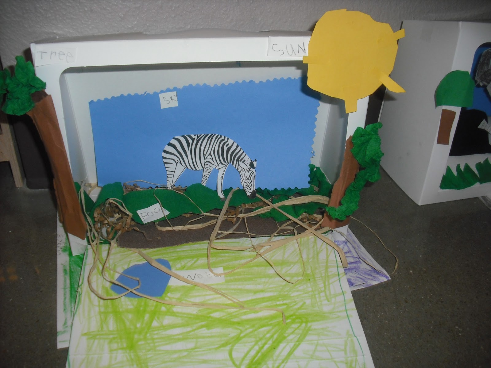 Sprinkles To Kindergarten Animal Research Project