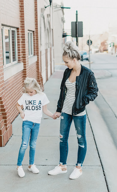 code tech stem women in technology girls karlie kloss kode with klossy mommy and me ootd