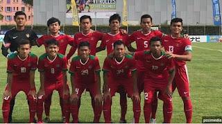 Timnas Indonesia U-19 vs Espanyol B di Stadion GBLA Jumat 14 Juli 2017