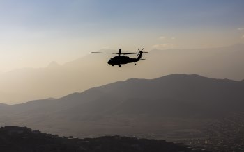 Wallpaper: Kabul. Afghanistan. Helicopter. Blackhawk