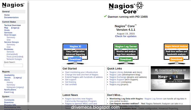 DriveMeca instalando Nagios en un servidor Linux Centos 6.x / 7.x paso a paso