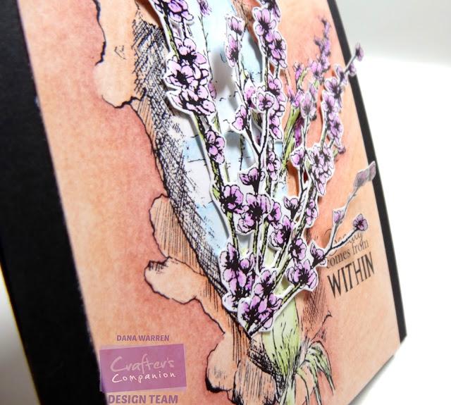 Dana Warren - Kraft Paper Stamps - Crafters Companion