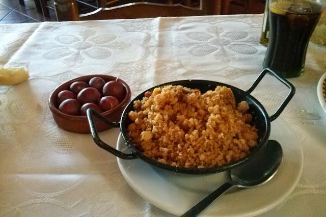Migas Restaurantes Mesón La noria de Dulcinea El Toboso