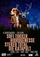 Concierto de Hidrogenesse, Stereo Total, Sofi Tukker y Die Katapult en Ochoymedio