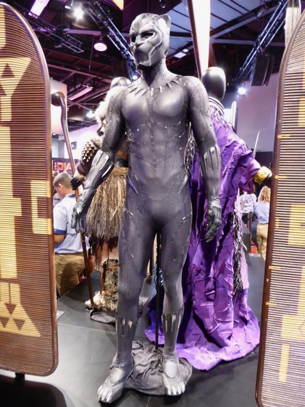 Chadwick Boseman Black Panther solo film costume