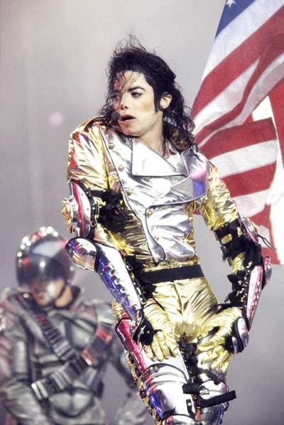 Michael Jackson Gold Pants