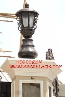lampu antik, lampu pju , lampu besi tempa