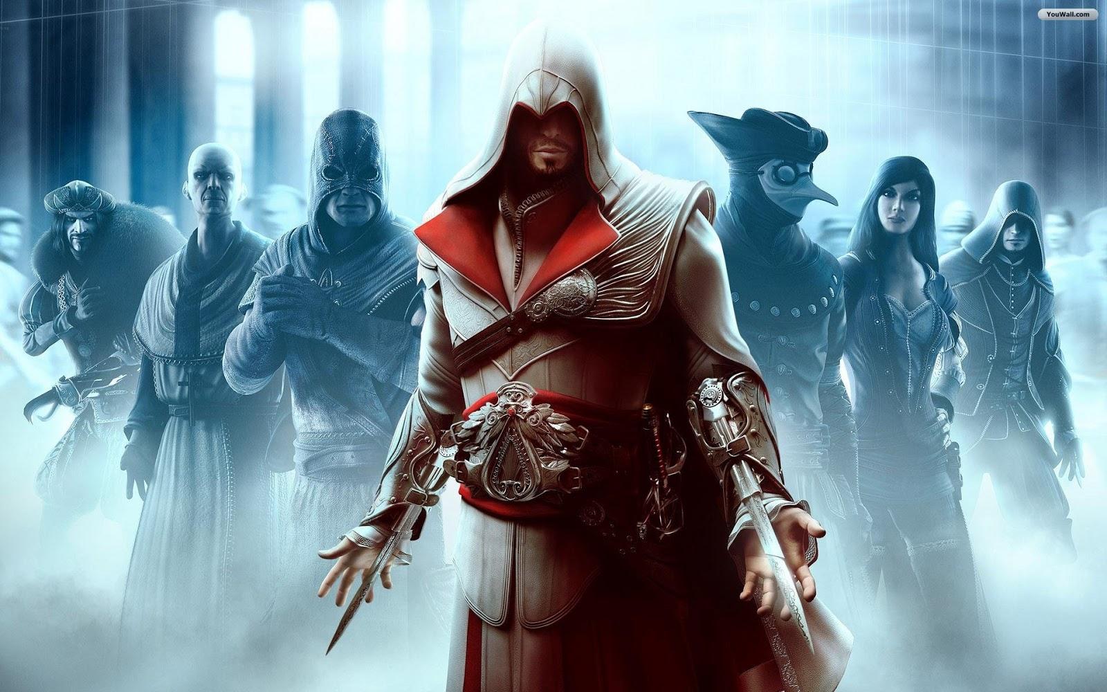 Assassins Creed Brotherhood Wallpaper: Assassins Creed Brotherhood Game Wallpapers HD