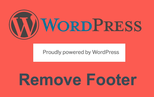 How to Remove Powered by WordPress in 3 Easy Steps 2018