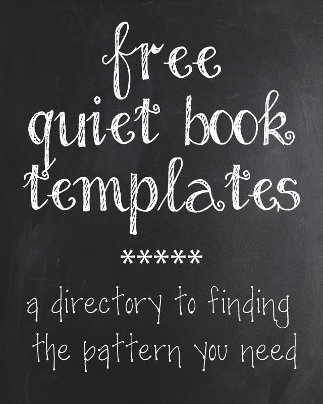 The Quiet Book Blog Quiet Book Pattern Directory