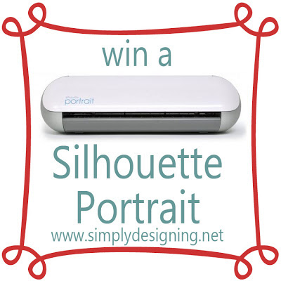 Win a SILHOUTTE PORTRAIT!!!!  #giveaway #silhouette @SimplyDesigning