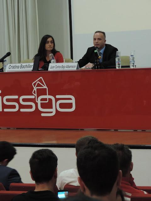 Jornada Compliance Galicia CGPC ISSGA, Miguel angel de la Cruz, vicepresidente del CGPC