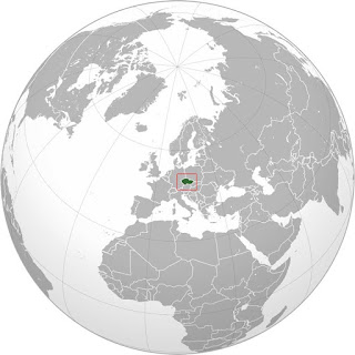 Gambar Peta letak negara Ceko