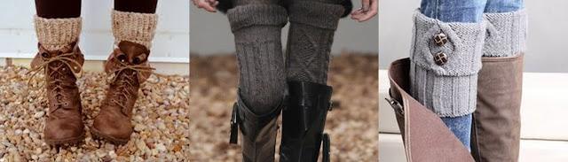 как одеваться зимой стильно и тепло теплые гетры и шерстяные чулки с сапогами