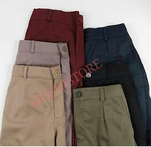 Pants Drawstring Basic/Celana Pants