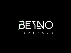 خط Beyno Typeface