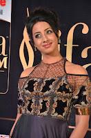 Sanjjanaa Galrani aka Archana Galrani in Maroon Gown beautiful Pics at IIFA Utsavam Awards 2017 12.JPG