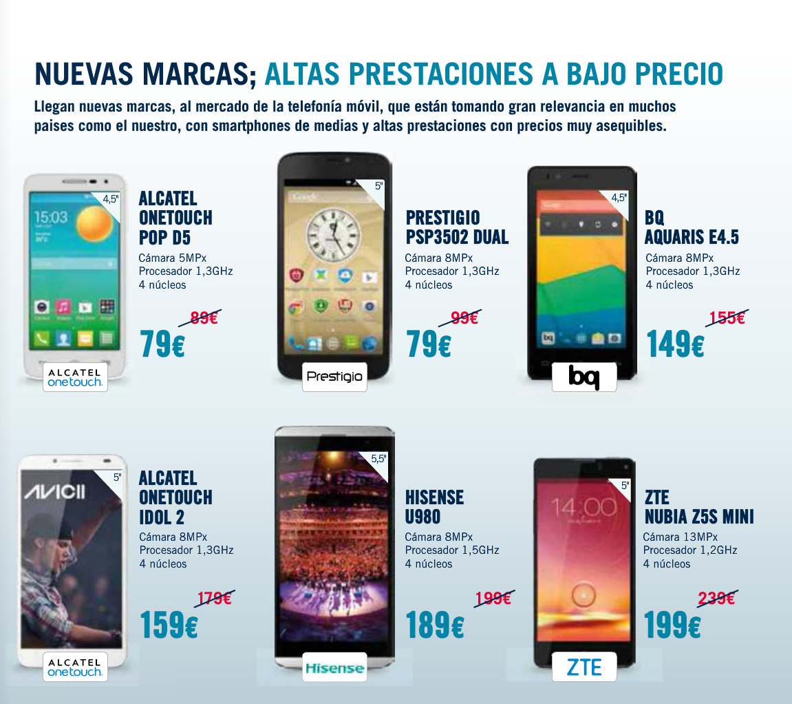 Phone House Moviles Libres Catalogo Phonehouse Sur Ingenia Mobile Moviles Libres