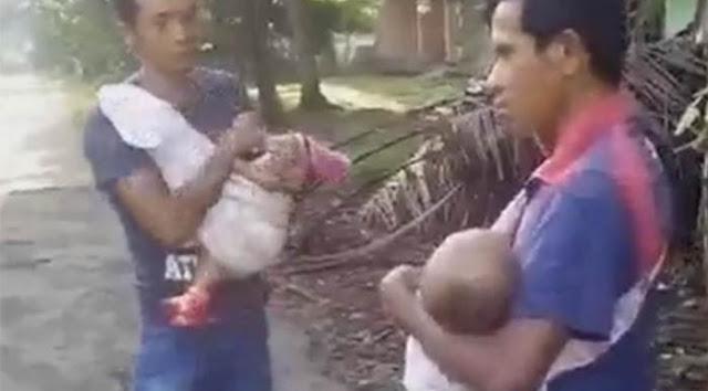 Terbukti Narkoba Lebih Berharga Hingga Bapak Ini Rela Jual Bayinya Demi Mendapatkan Narkoba.