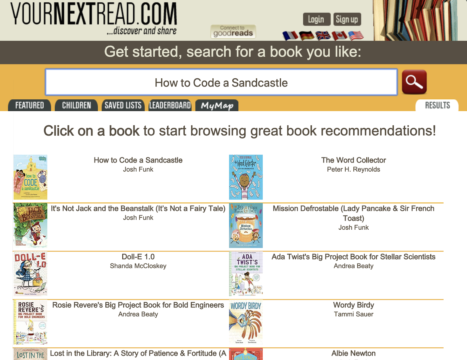 YourNextRead.com is a great way to find a new read! Come learn about some different digital tools that will help elementary students find their next book to read!
