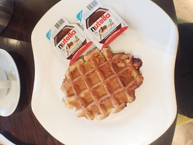 The Quay Hotel & Spa Conwy Restaurant breakfast waffle