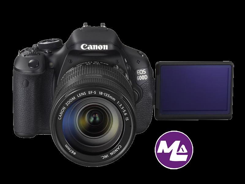 كانون Canon 600D – يطلق عليها أيضا إسم Rebel T3i