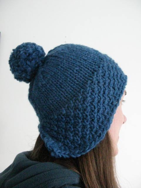 73f1173bab7 40. littletheorem. ➤. Chunky Knit Bobble Hat Knitting Pattern   Super ...