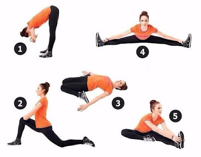 5 exercices pour des étirements quotidiens