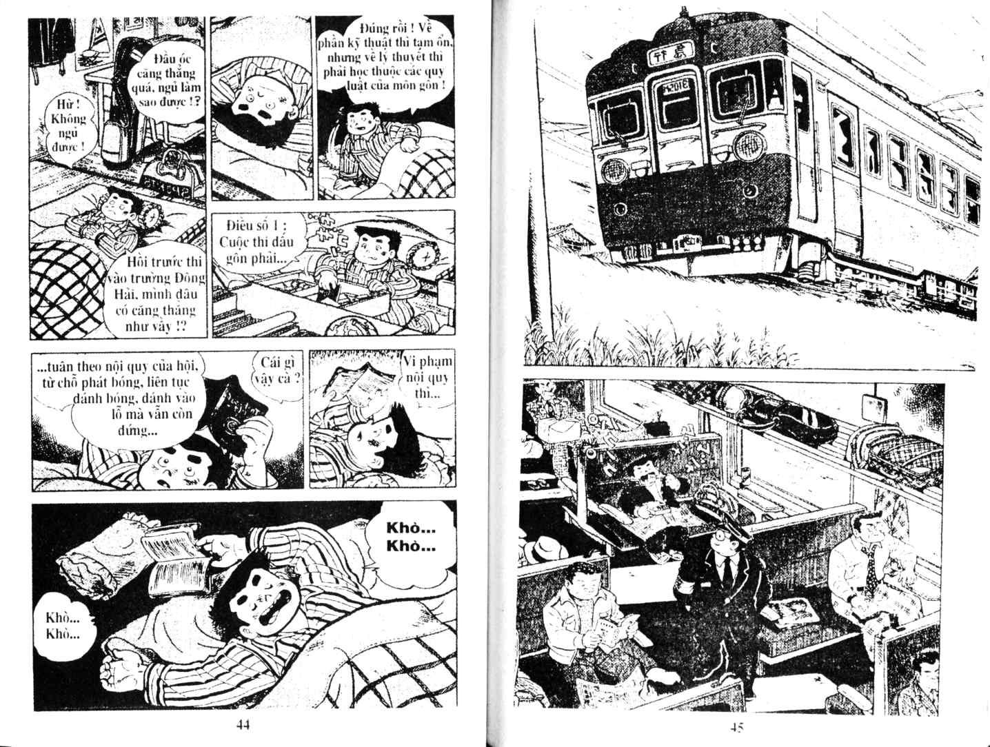 Ashita Tenki ni Naare chapter 11 trang 21