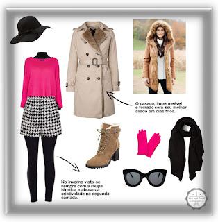 Como se vestir no inverno