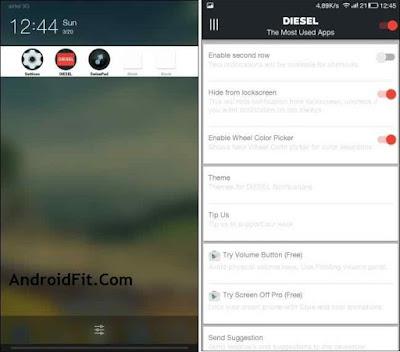 DIESEL android multitasking app switcher