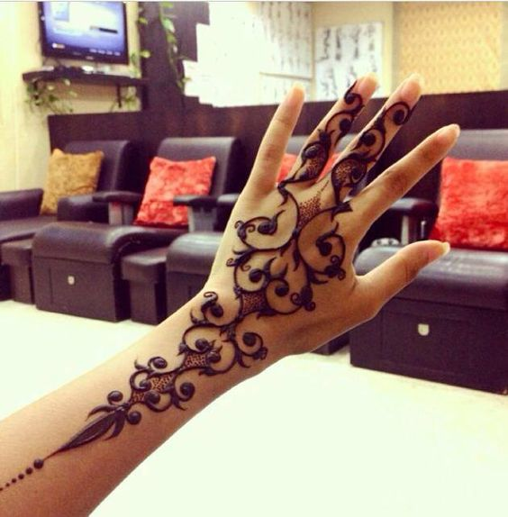 Mehndi Designs Morden : Latest and modern henna mehndi designs for all