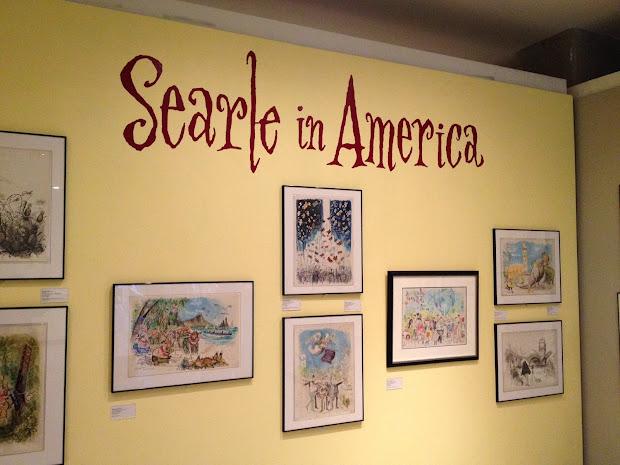 Ronald Searle Tribute November 2013