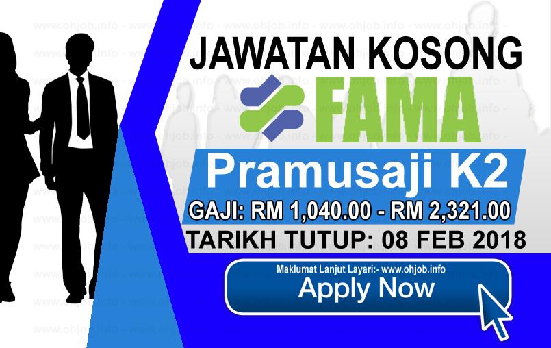 Jawatan Kerja Kosong Lembaga Pemasaran Pertanian Persekutuan - FAMA logo www.ohjob.info februari 2018