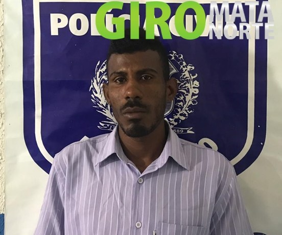 Polícia de Goiana prende foragido da justiça