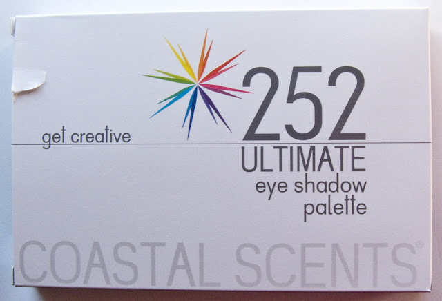 warpaint and unicorns coastal scents 252 ultimate palette