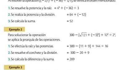 Cuaderno Virtual Matematica Jerarquía De Las Operaciones Con Potencias Y Raíces