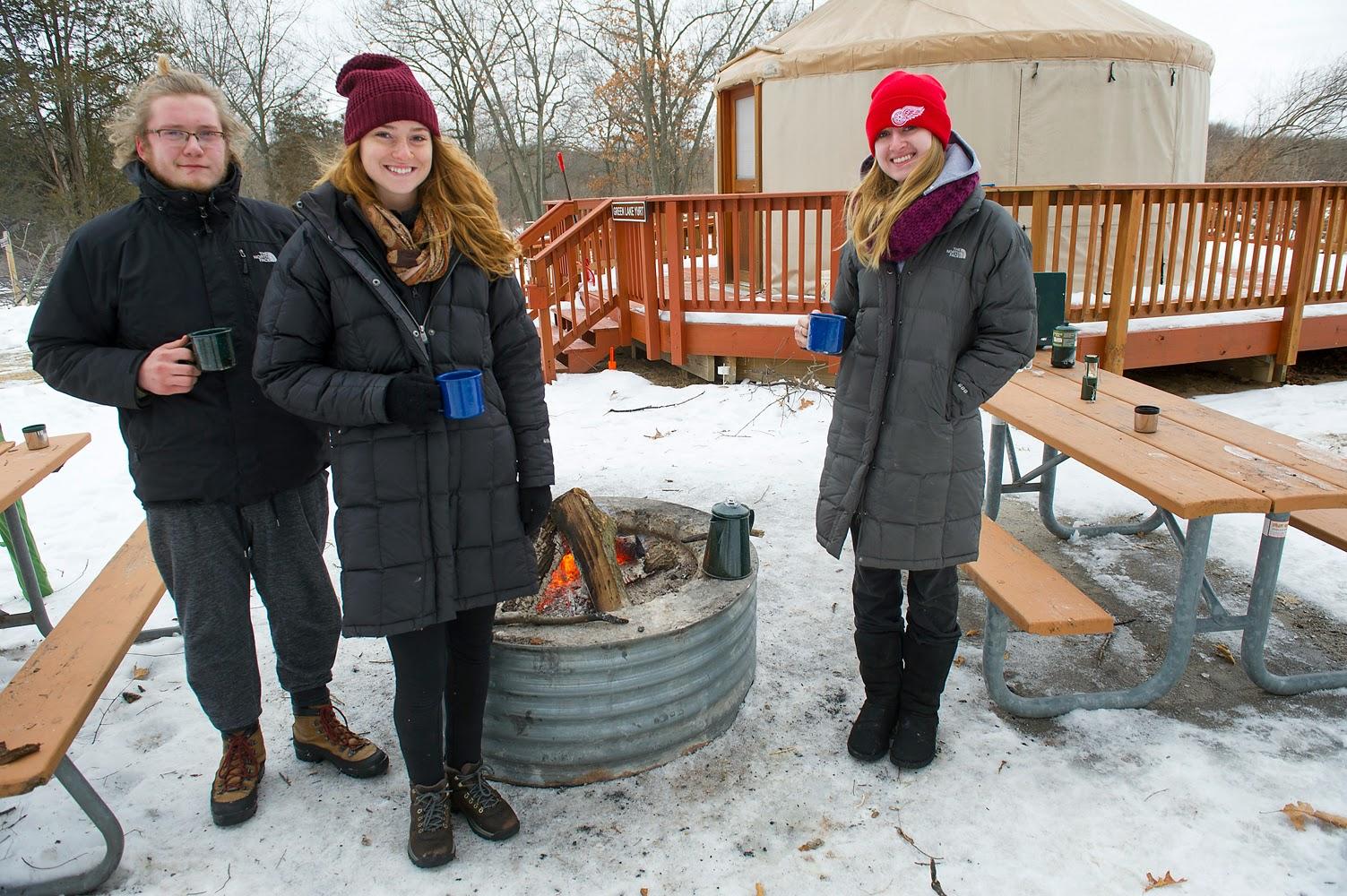 Showcasing the Michigan DNR: Winter Camping Alternative ...