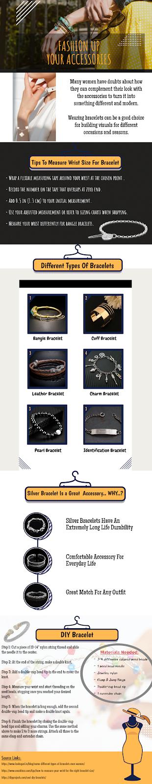 bracelets infographic