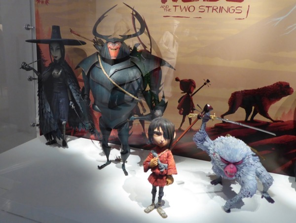 Kubo Two Strings stop-motion puppets